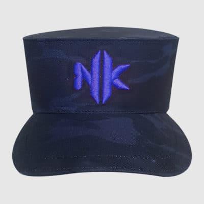NK SPIRIT logo Bleu face