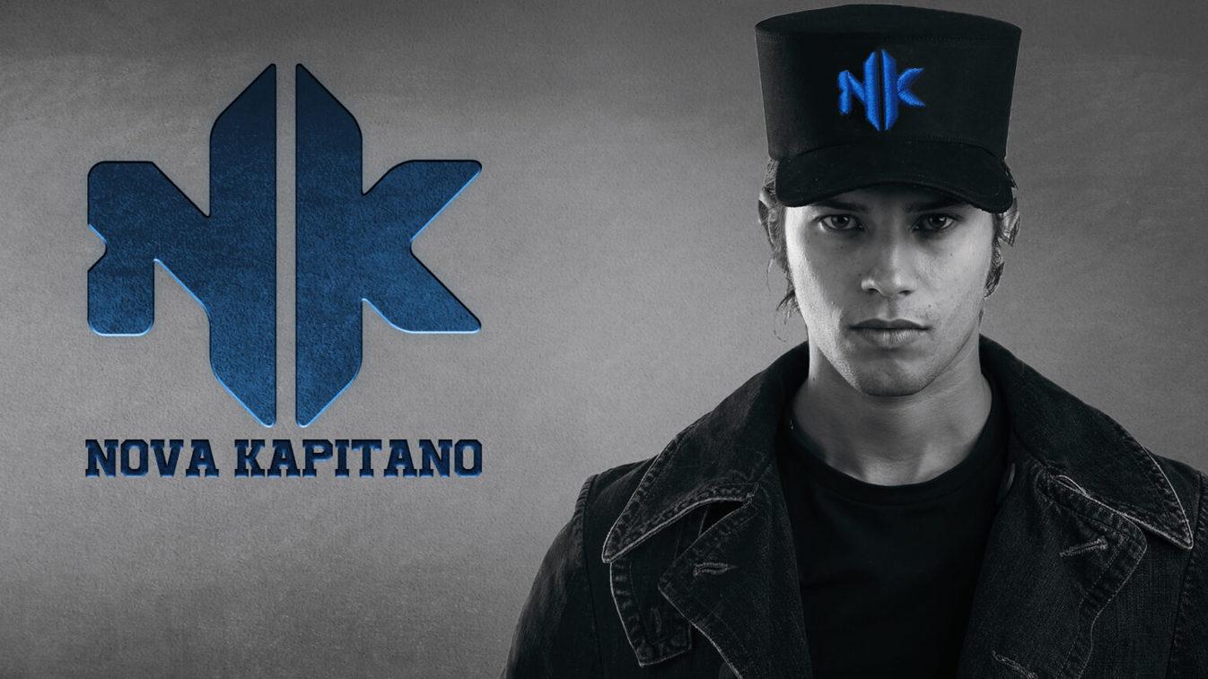 nova kapitano bleu casquette